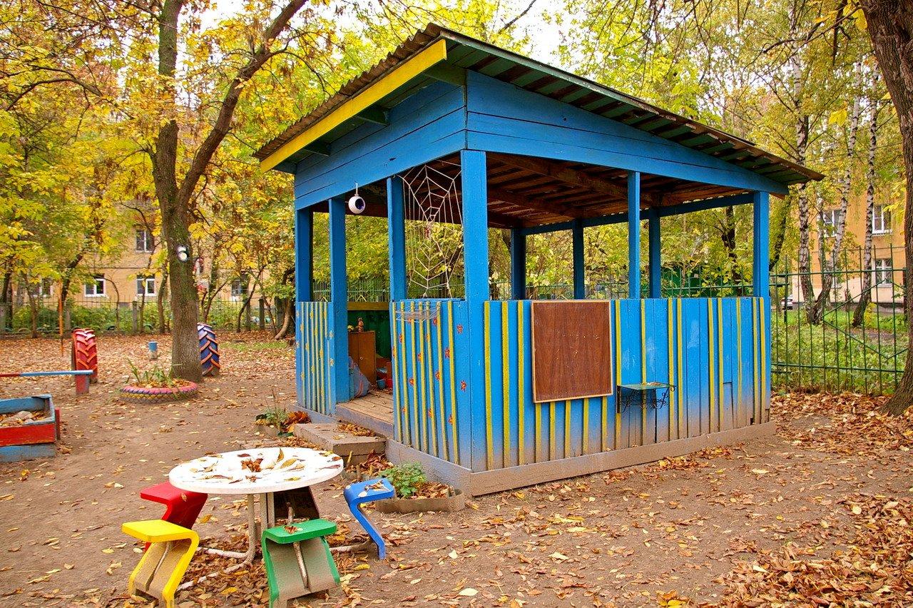 Украшения веранды в детском саду фото